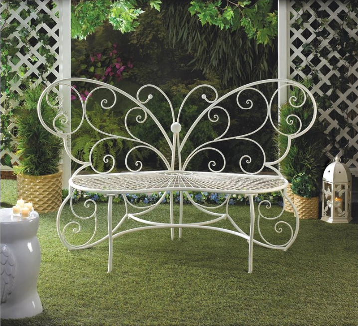zingz-and-thingz-butterfly-garden-bench-in-white
