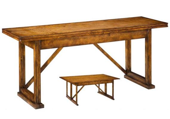 Sarreid Architect's Table in Light Honey