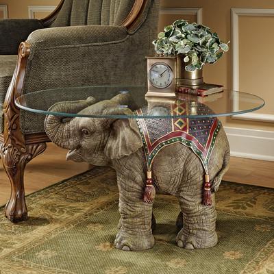 design-toscano-jaipur-elephant-festival-coffee-table
