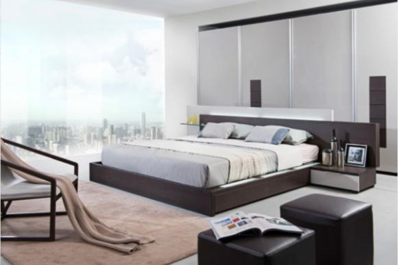 Furniture Modrest Platform Bed