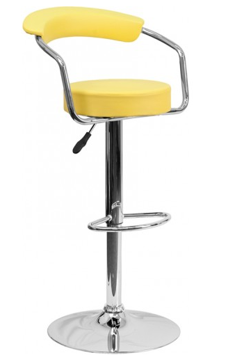 modern-yellow-bar-stool