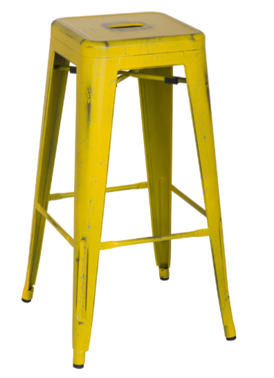 industrial-metal-yellow-bar-stool