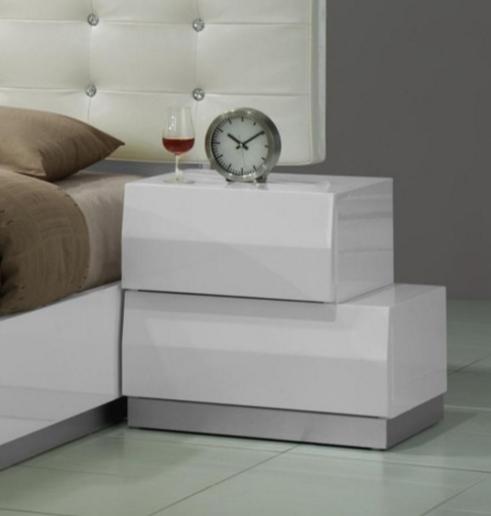 J&M Furniture Milan 2-Drawer-Left-Nightstand