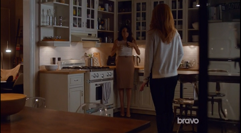 Rachel and Donna in Kitchen