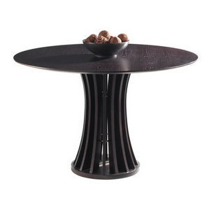 Sunpan Dining Table Round Espresso