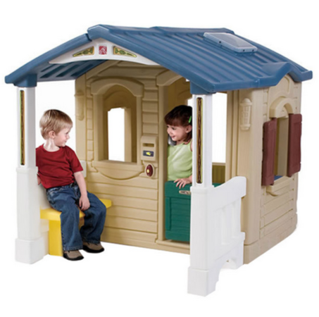 Blue roof Playhouse For Kids