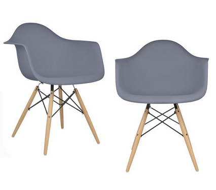 eModern Gray Dining Chair