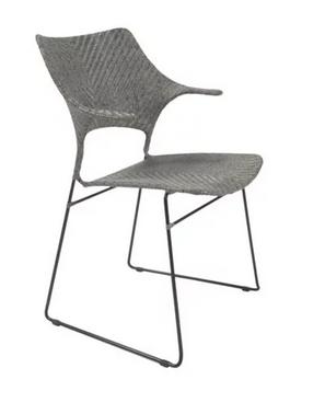 Osaka Gray Armchair
