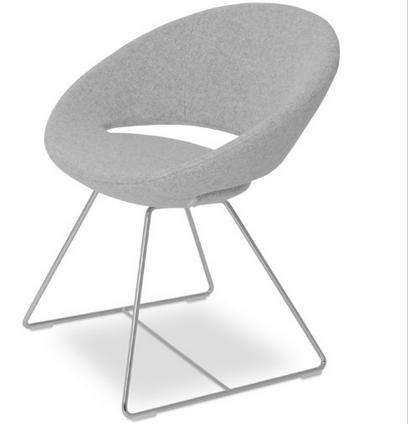 SohoConcept gray dining chair