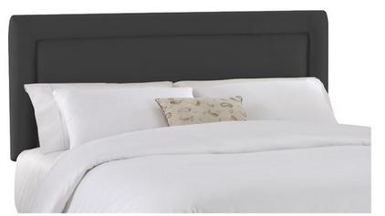 Skyline Furniture Black Modern Headboard