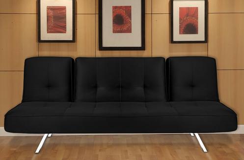 Irvine Black Sleeper Sofa