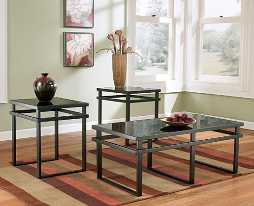 Laney Coffee Table Set of 3 Ashley Furniture