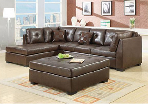 Brown sectional Sofa by Wildon Home