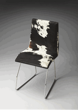 Black And White Side Chair by butler Specialty