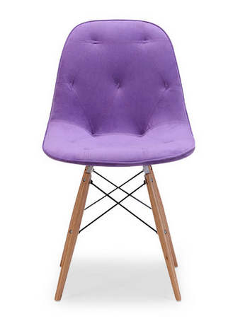Purple Side Chair by dCOR design