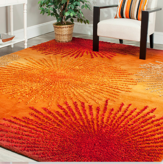 8 Orange Area Rugs For The Room Build
