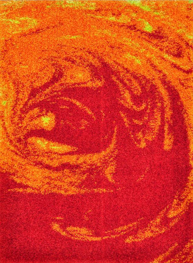 Loloi Rugs - Orange and Red Area Rug