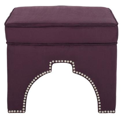 Purple Ottoman Safavieh Oriental