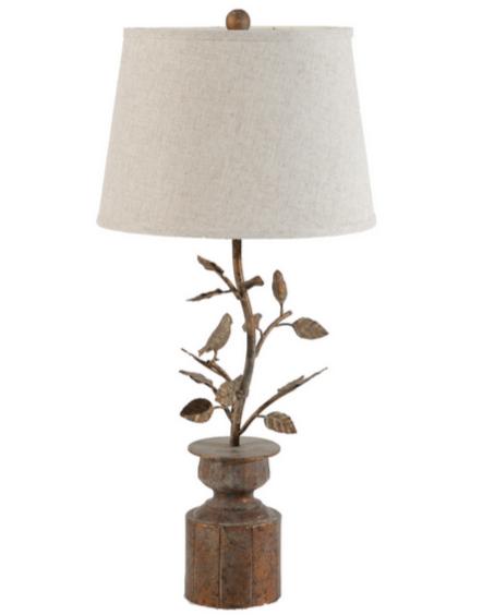 Beautiful Buttef Lamp Empire Shape