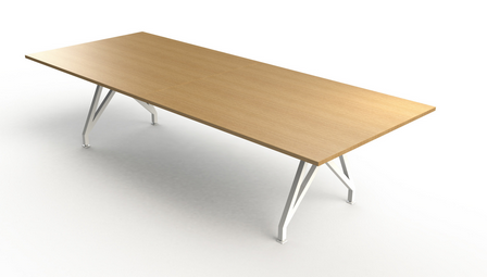 Think Tank 12' Rectangular Conference Table