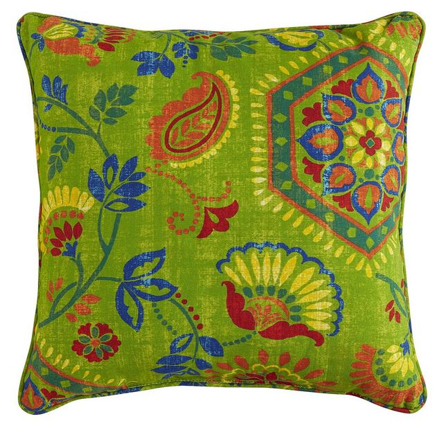 Grayton Citrus Outdoor Pillow