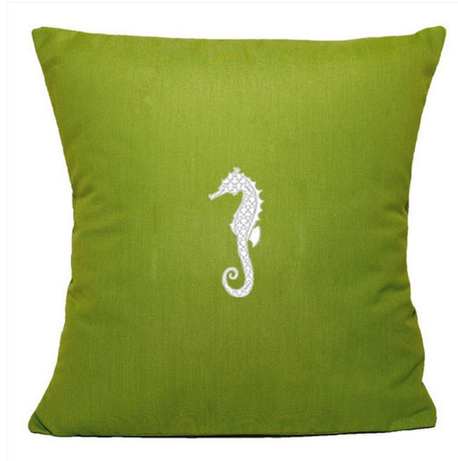 Green Pillow For Outdoor