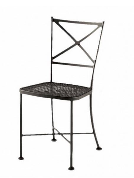 Iron Dining Patio Chair