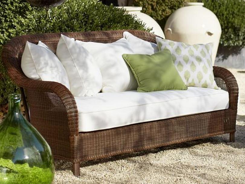 Palmetto All Weather Wicker Sofa