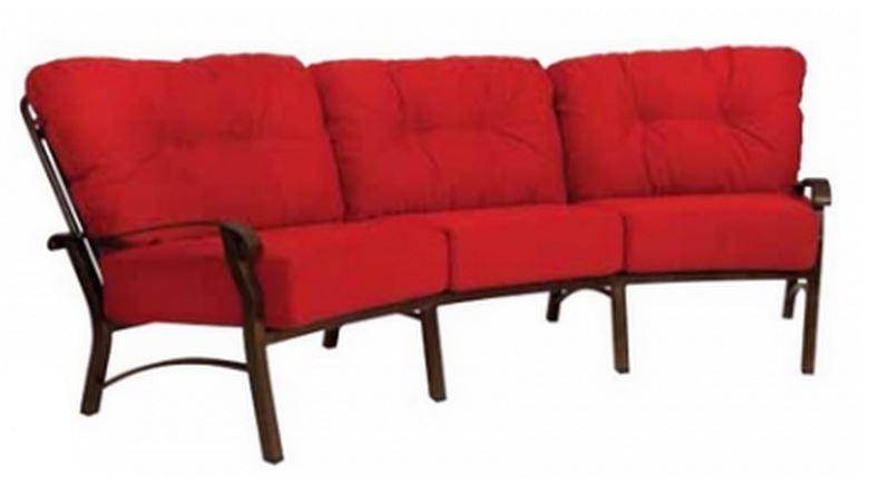 Outdoor Aluminium Sofa With Cushions