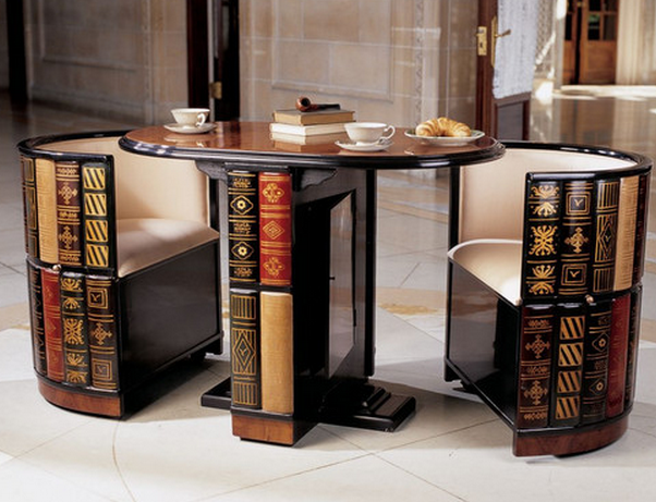 Dining Set Of Books