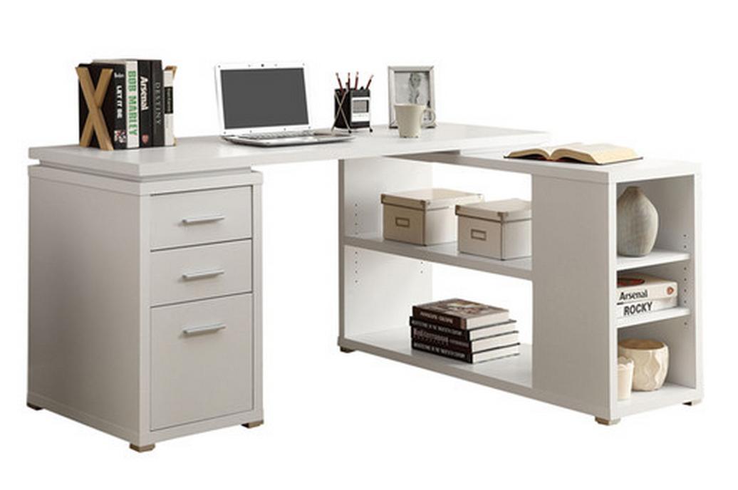 White Corner Desk For Home Office