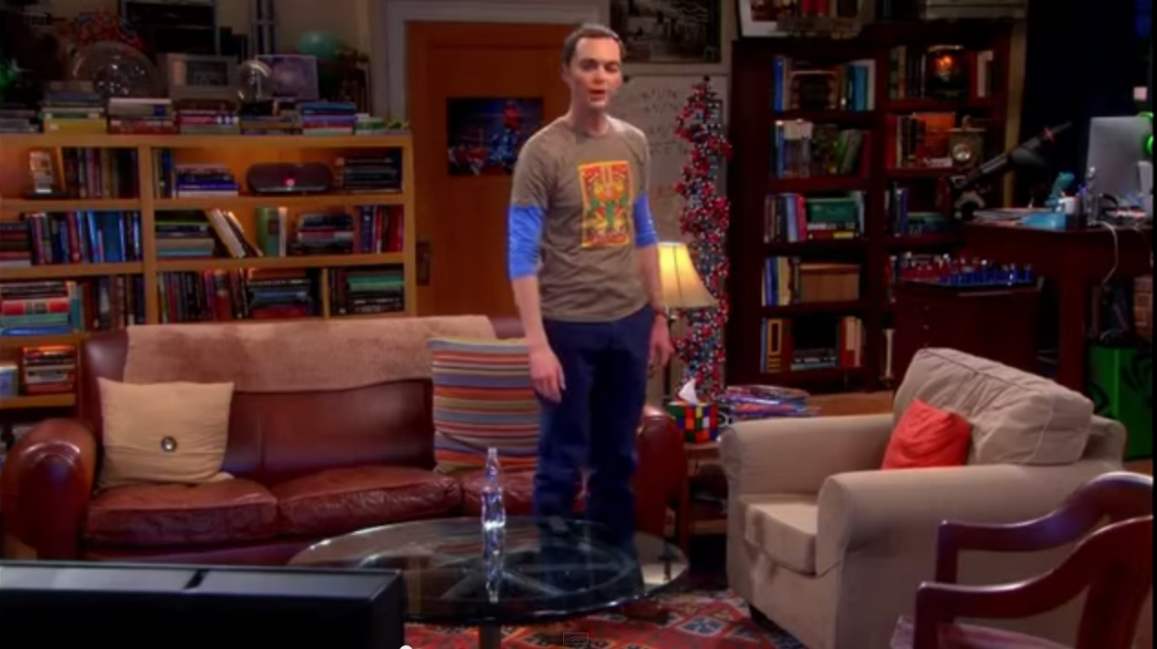 The Big Bang Theory Living Room