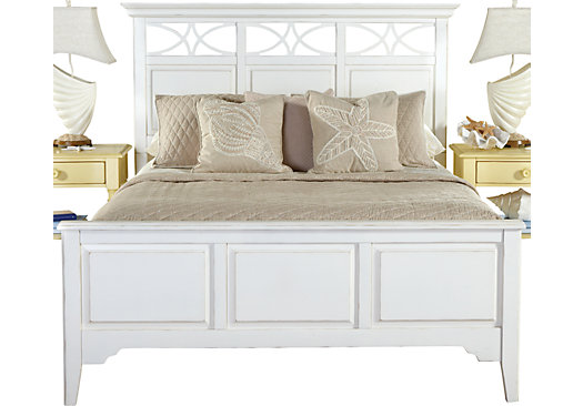 Cindy Queen Bed White