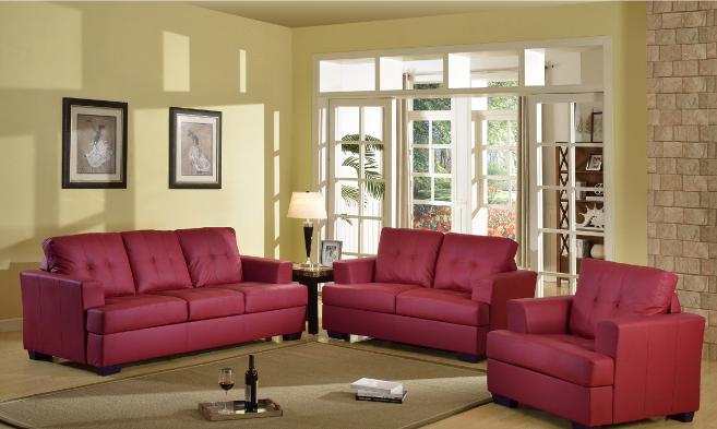 nova-red-3-piece-living-room-set