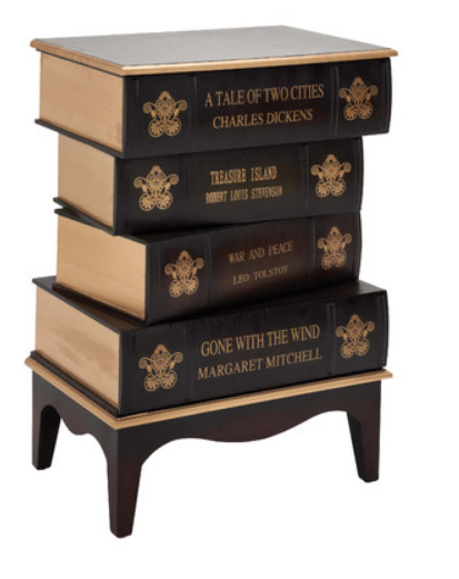 Wood-and-Leather-BookCabinets