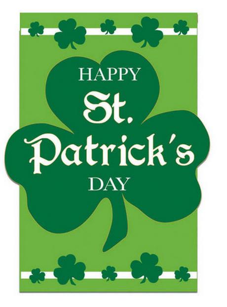Flag For St. Patricks Day