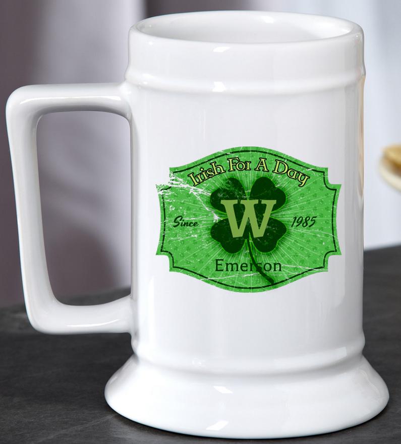 Irish For A Day Beer Mug