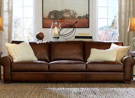 TBBT Leather Sofa