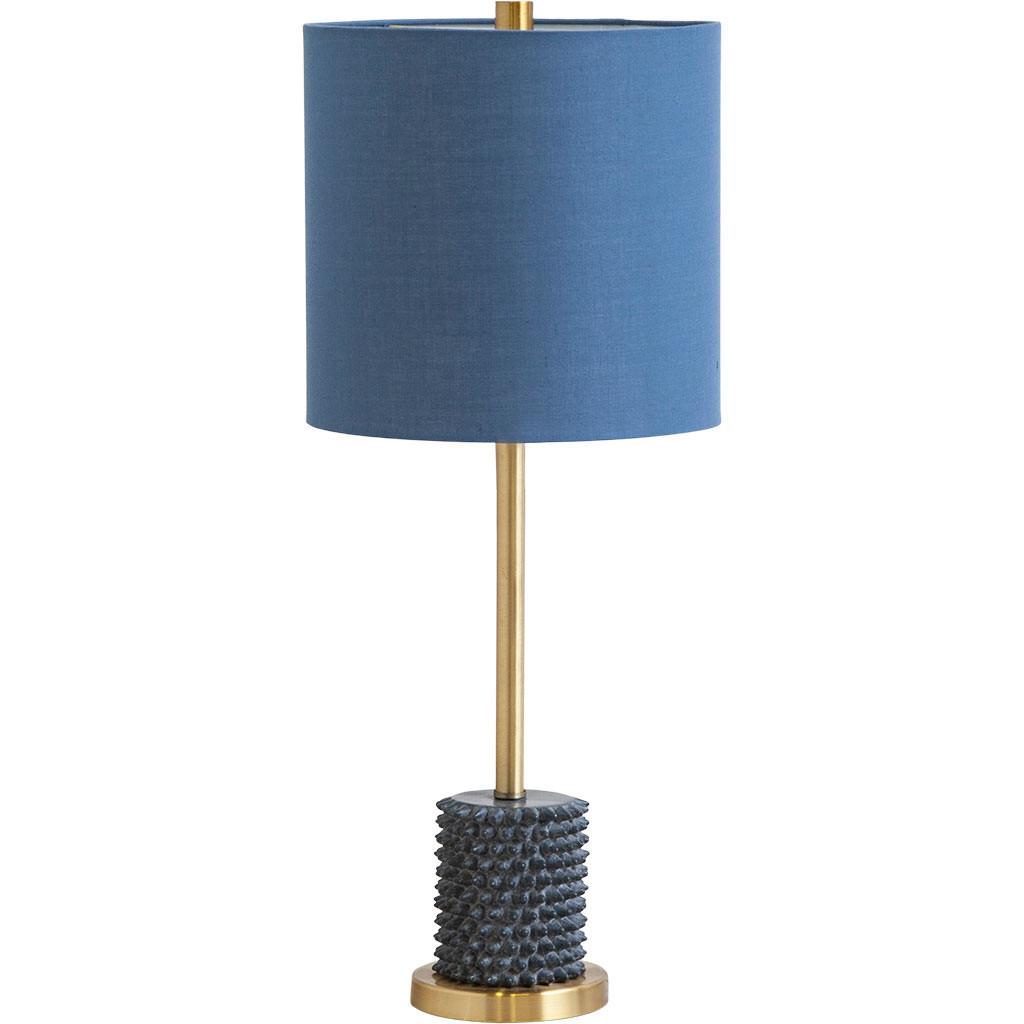 blue-shade-lamp